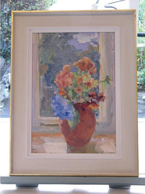 Autumn flowers 32x43cm