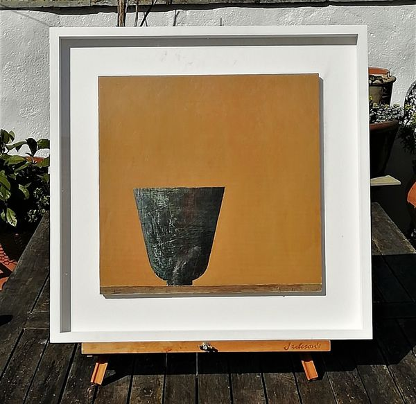 Black Bowl Alls Quiet in frame£470
