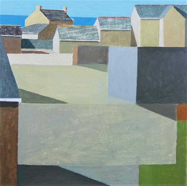 Coastal farmyard 46x46cn inc. frame £450