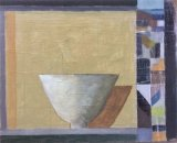 Golden bowl 33x30cm inc frame £300