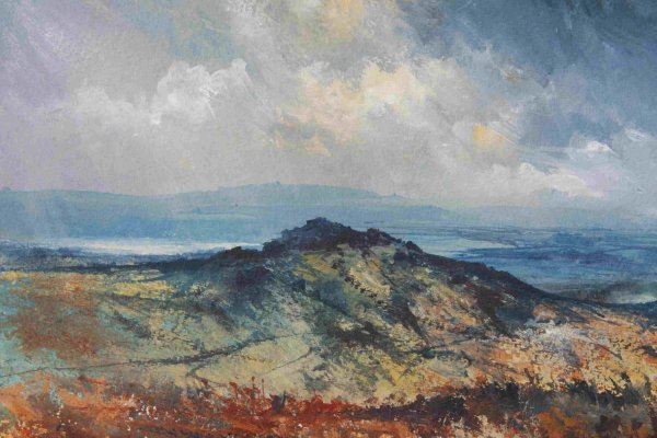Kings Tor Princetown 56x35cm inc frame £575