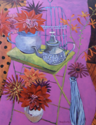 Moroccan tea party 108x77cm£3400