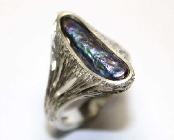 Paua shell ring £504