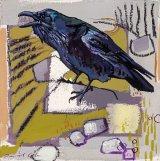 Raven 29x29cm inc frame £400