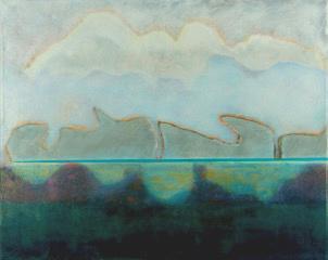 Sara Owen - Rocks in the river 85x70cm inc frame £1200
