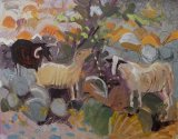 Sheep Grazing oil on board 7x9ins£990