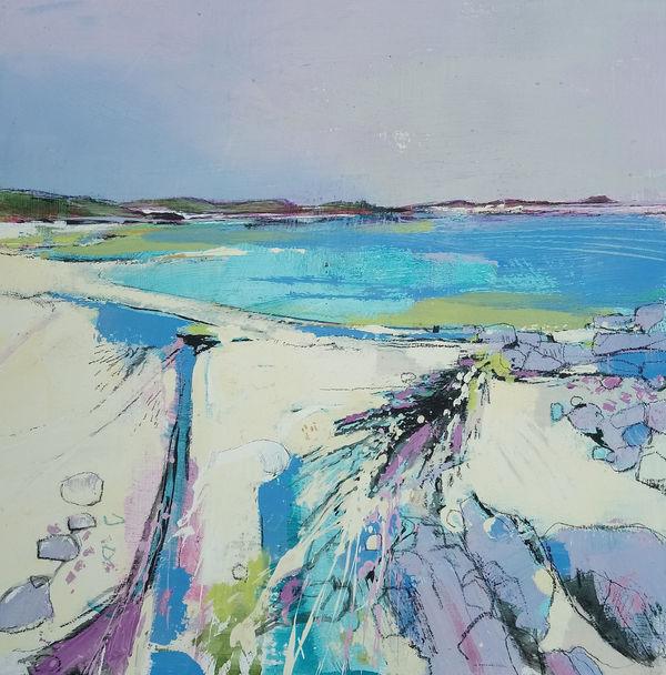 Still Scilly morning, St Martins 50 x 50 cm £1100