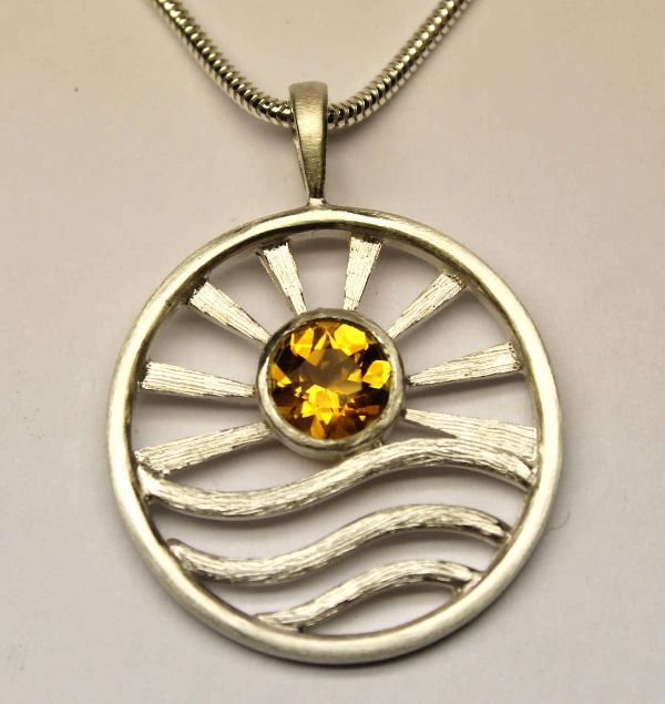 Sunrise Pendant £168