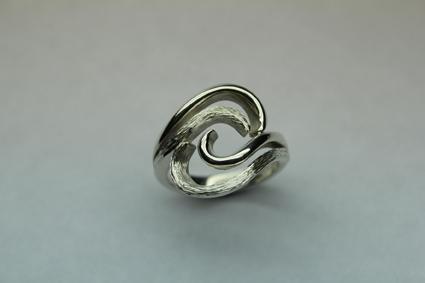 Swirl wave ring £158