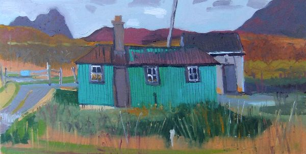 The Wee Hut at Elphin 63x43 inc frame £1400