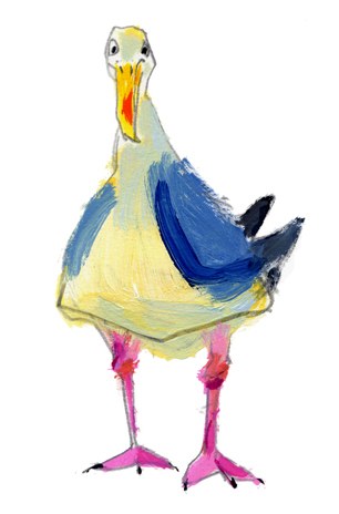 """silly gull"