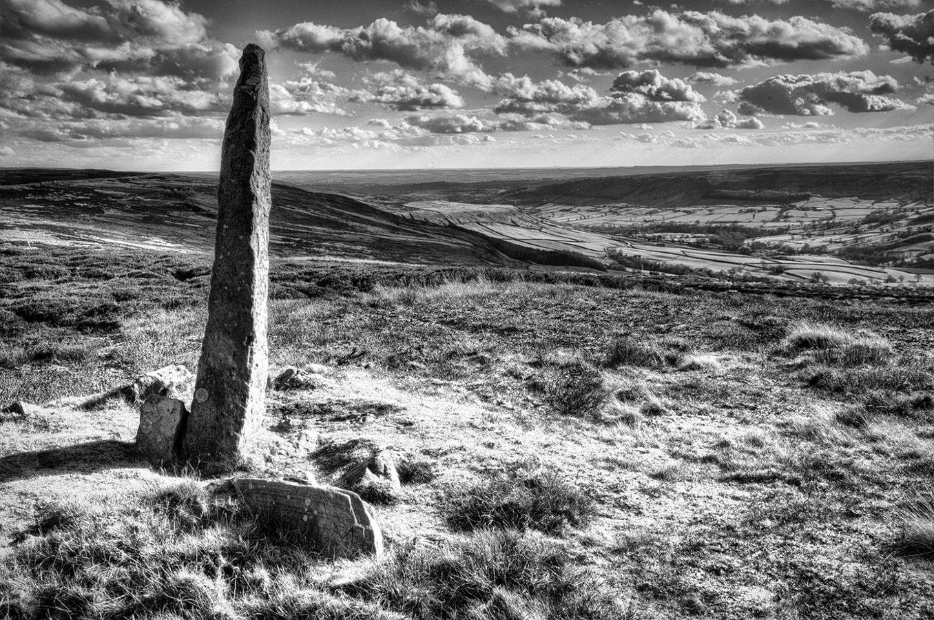Farndale Boundary Stone
