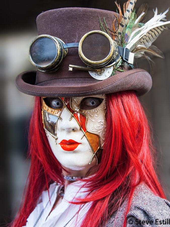 Masked Steam Punk