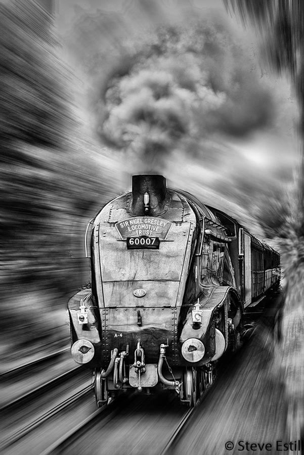 Nigel Steaming