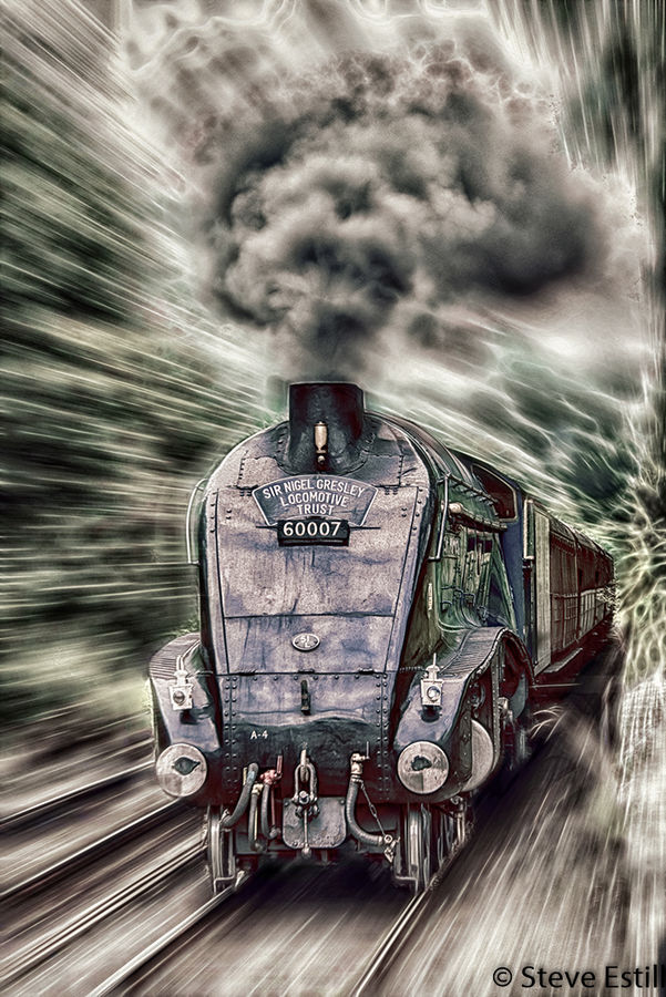 Sir Nigel Steaming