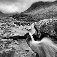 Waterfall, Skye