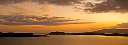 Sunset, Loch Harport from Bracadale
