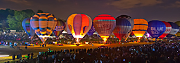 Balloon Nightglow, Bristol
