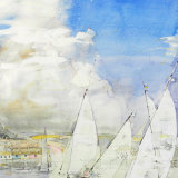 Yawl in a Squall - Salcombe