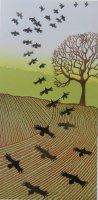 Evening Crows II