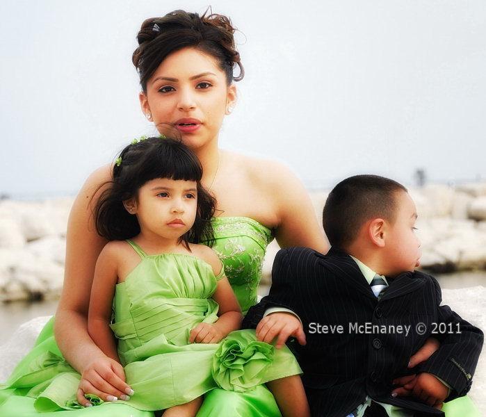 The Green Dress 01