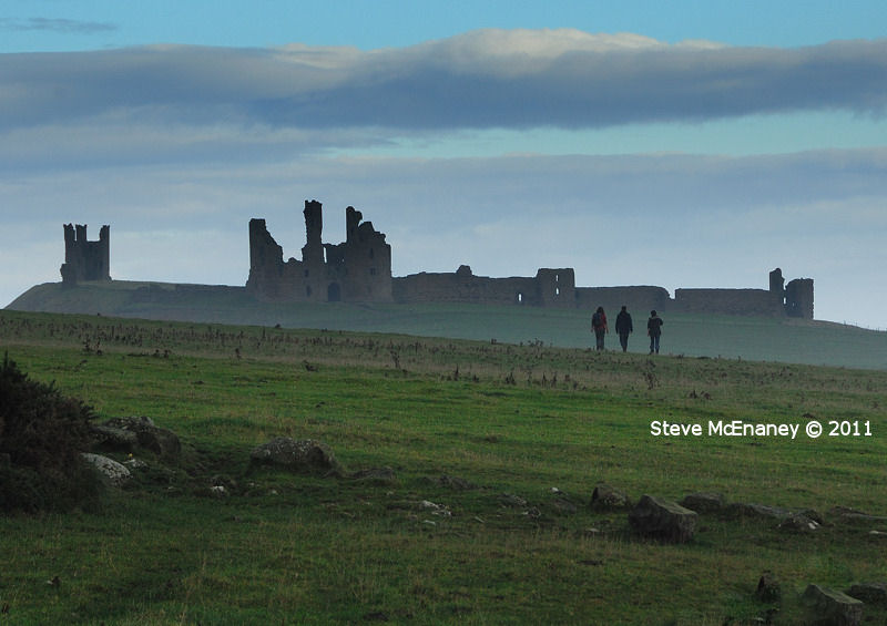 Walking to Dunstanburgh Castle