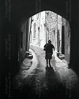 Woman in Archway