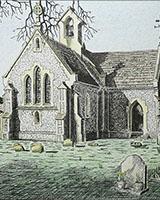 Bossington Church