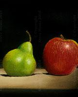 Orange Pear Apple