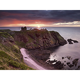 Dunnottar Castle at Sunrise, Aberdeenshire