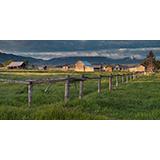 Mormon Row Barns, Grand Teton National Park