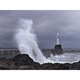 South Breakwater Lighthouse, Aberdeen