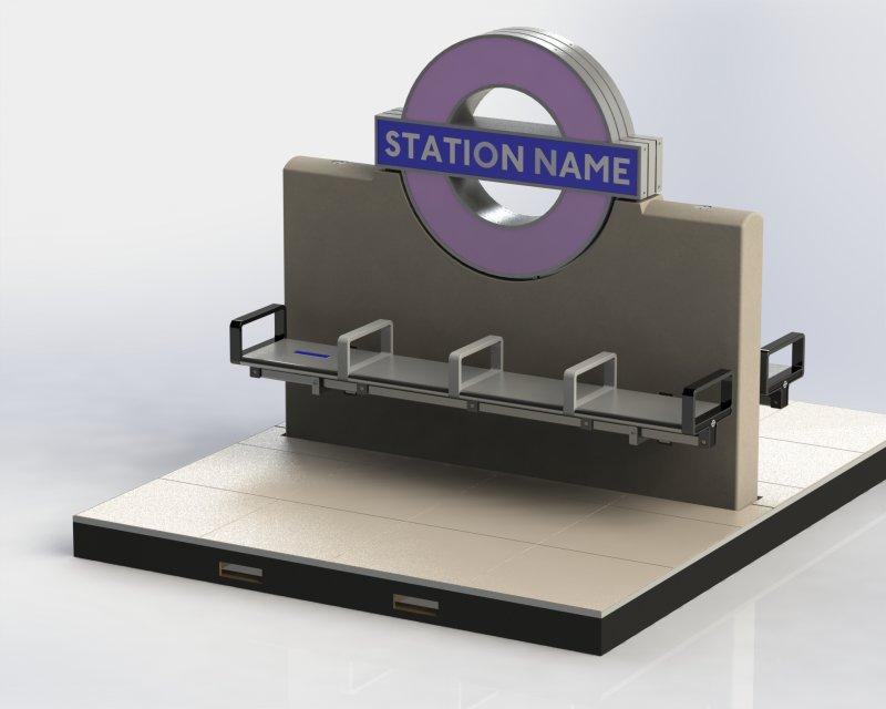 Crossrail Prototype Seating