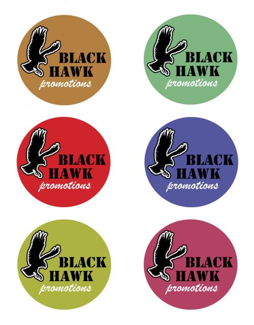 Blackhawk Logo (different colours)