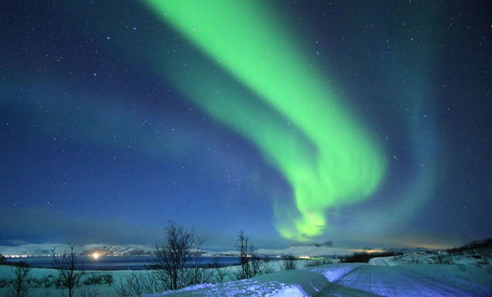 Aurora Borialis . Tromso . Norway