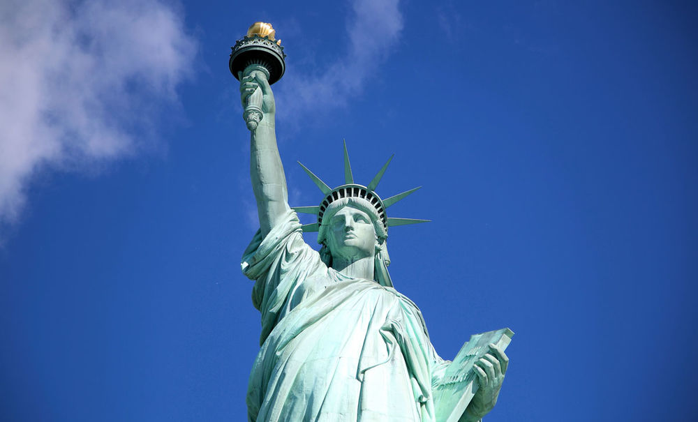 Statue of Liberty . New York