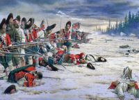 78th Foot Grenadiers, Battle of Sillery, Quebec, 1760