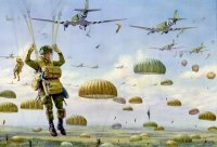 Operation Market Garden 1944, Drop Zone T, Groesbeek Heights.