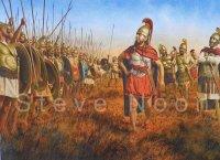 Carthaginian battle line, Tunis 255 BC