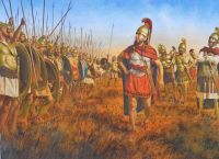 Carthaginian battle line, Tunis 255 BC