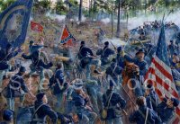 The Four-gun battery, Resaca, May 15 1864