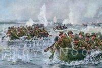 Crossing the Waal, September 20, 1944
