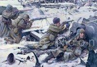 Soviet infantry, Stalingrad 1942