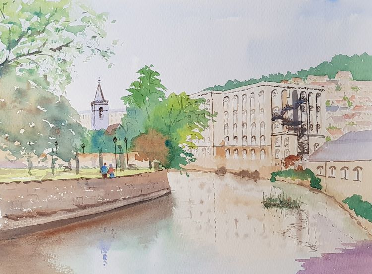 Park and Mills Bradford on Avon