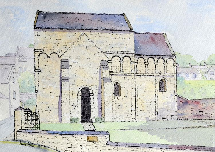 Saxon Church Bradford on Avon