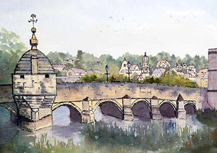 Town Bridge Bradford on Avon I