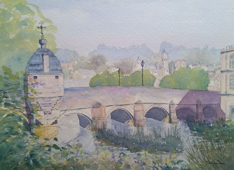 Town Bridge Bradford on Avon II