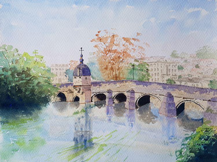 Town Bridge Bradford on Avon III