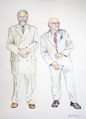 Bob O'Dell and David Gleeson
