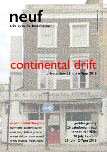 'continental drift' neuf experimental film group